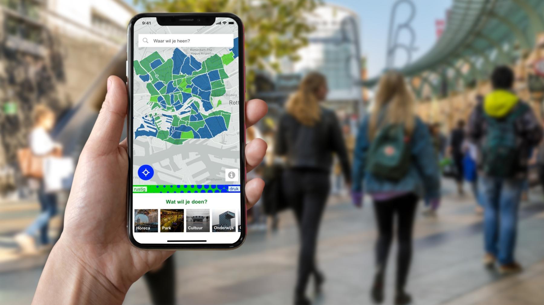 Gemeente Rotterdam lanceert druktemeting op basis van Resono data